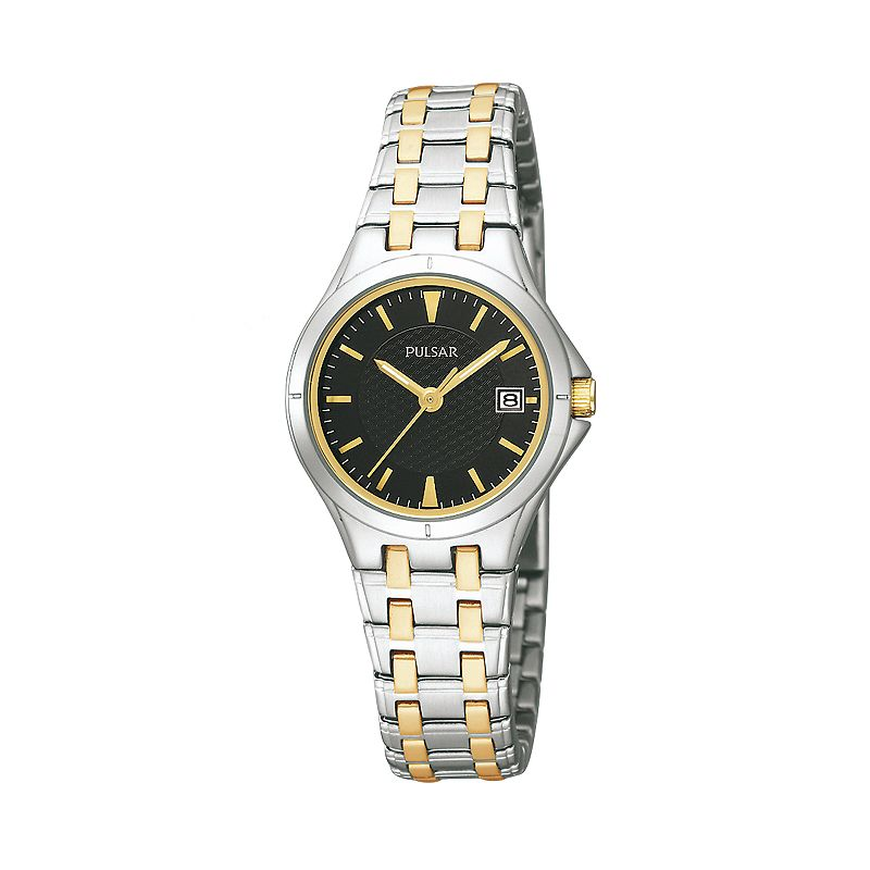 Pulsar Women's Two Tone Stainless Steel Watch - PXT829