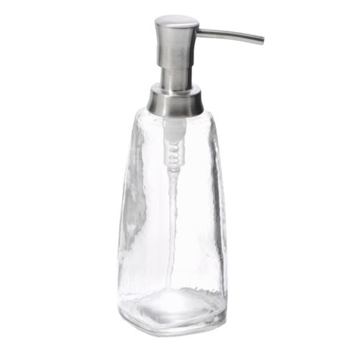 interDesign Vitri Glass Tall Soap Pump