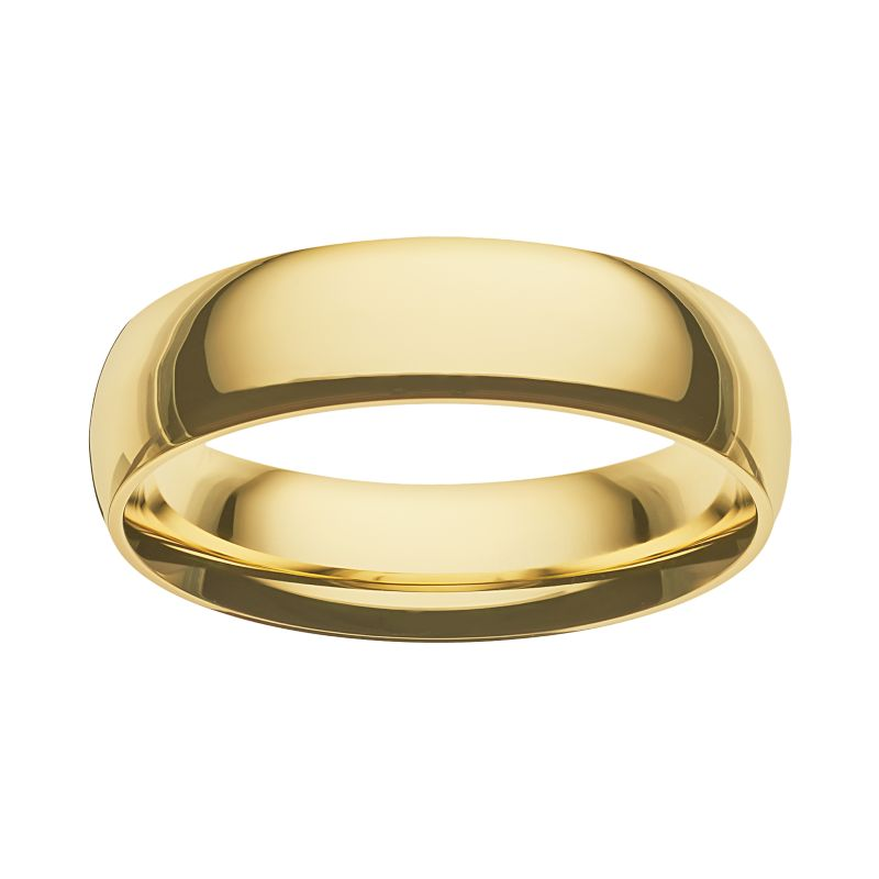 14k Gold Mens Wedding Band Kohl S