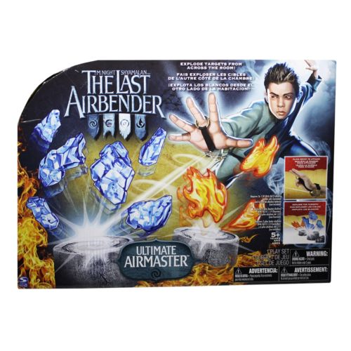 The Last Airbender Infra Red Airbending Master Play Set