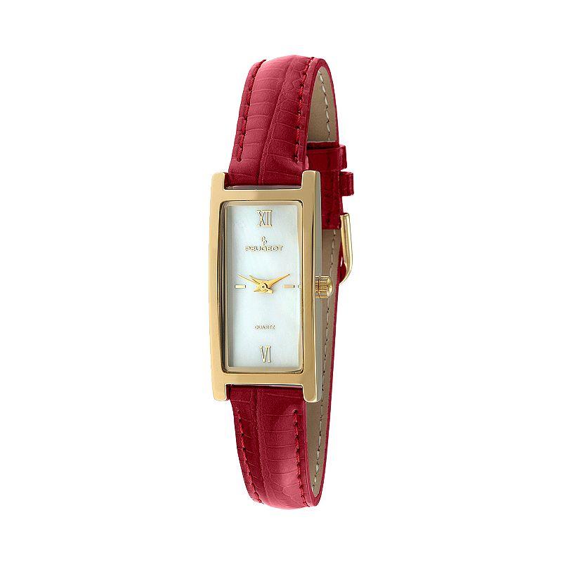 Peugeot Women's Leather Watch - 3017RD