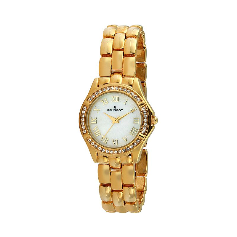 Peugeot Women's Crystal Watch - 7037G