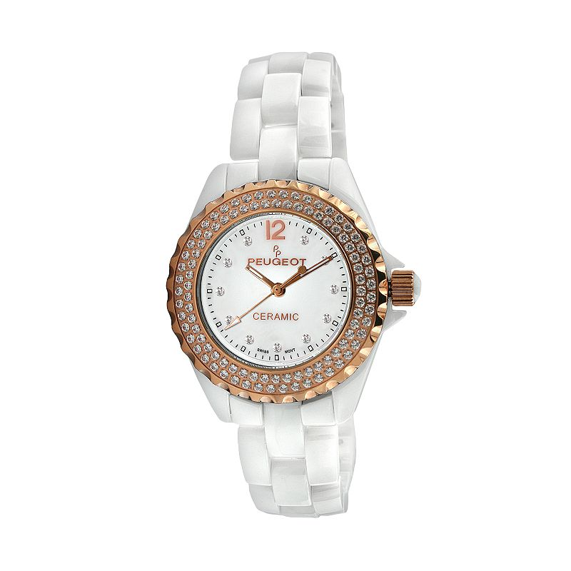 Peugeot Women's Crystal Watch - PS4892WR