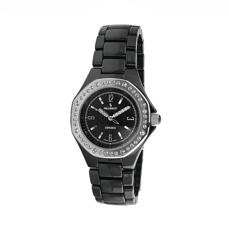 Peugeot Women's Crystal Watch - PS4896BS