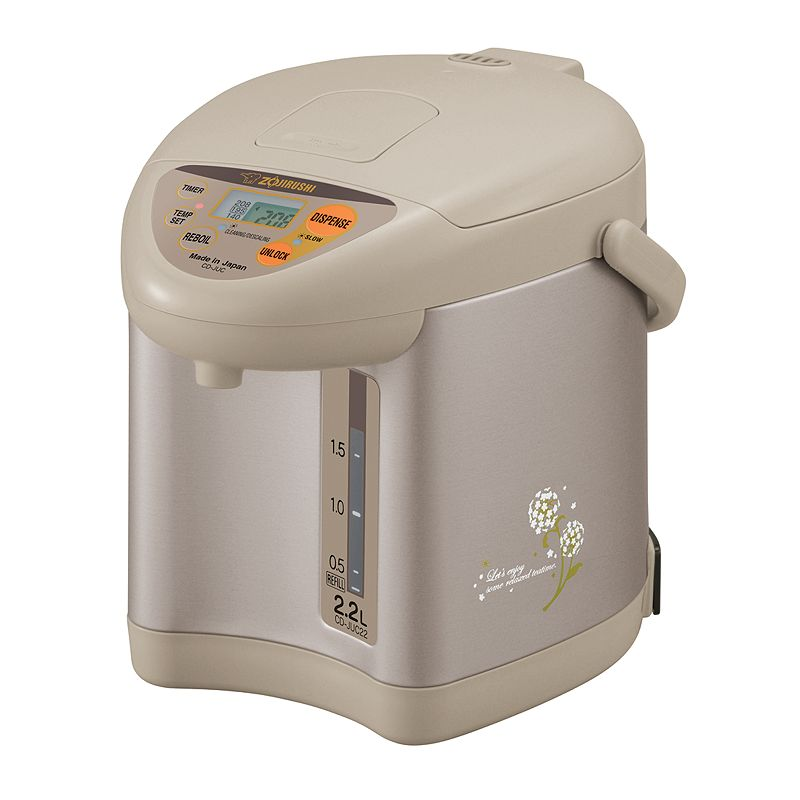Zojirushi Champagne Gold 74-oz. Micom Water Boiler and Warmer