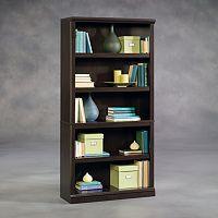 Sauder 5-Shelf Split Bookcase