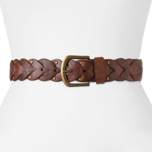 SONOMA life + style® Braided Riveted Belt