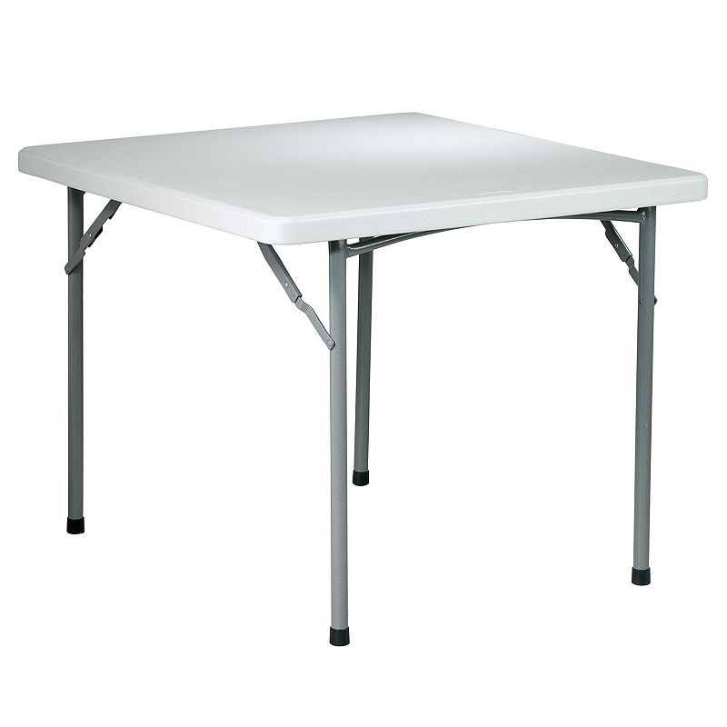 Office Star Products 3-ft. Square Folding Table - Outdoor