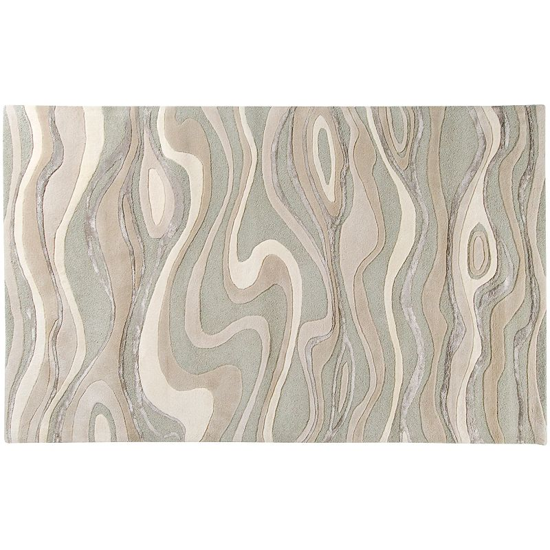 Surya Modern Classics Abstract Wave Rug- 3'3'' x 5'3''