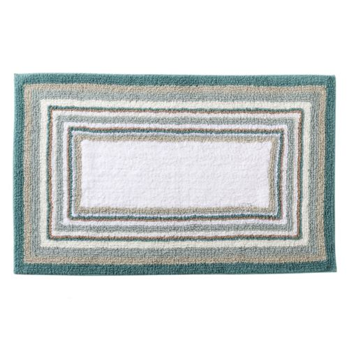 SONOMA life + style® Reversible Striped Bath Rug - 17'' x 24''