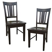 2-pc. San Remo Splat-Back Dining Chair Set