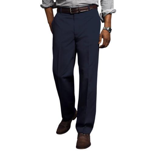 Men's Dockers® Comfort-Waist D3 Classic-Fit Full-Elastic Flat-Front Pants