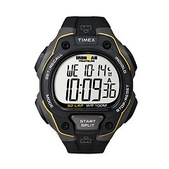Timex Men's Ironman 50-Lap Digital Chronograph Watch T5K4949J