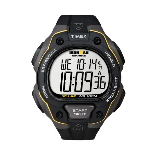 Timex Watch - Men's Ironman 50-Lap Resin Digital Chronograph - T5K4949J