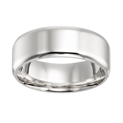 Cherish Always Stainless Steel Wedding Band - Men