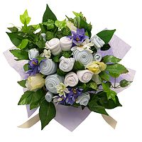 Baby Blooms Classic Bouquet Layette Gift Set - Newborn