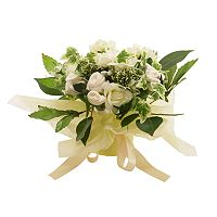 Baby Blooms Natural Bouquet White Layette Gift Set - Newborn