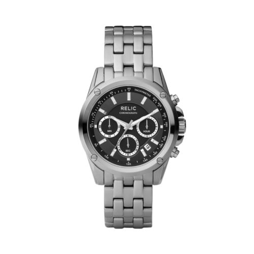 Relic Stainless Steel Watch - Men