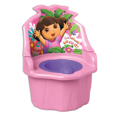 Dora the Explorer 3-in-1 Potty Trainer by Ginsey