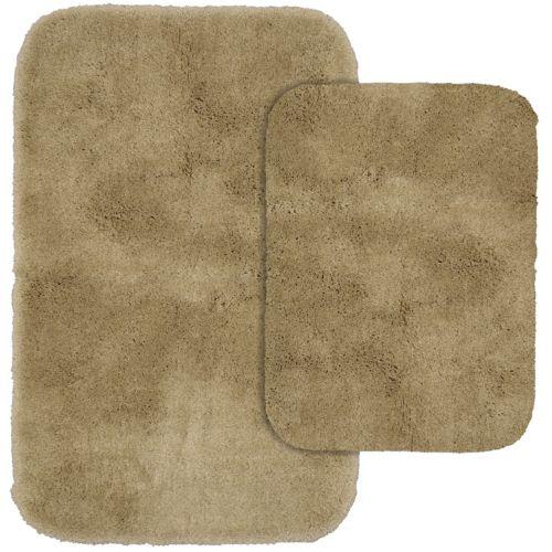 garland rug prestige ultra plush 2 pc bath rug set