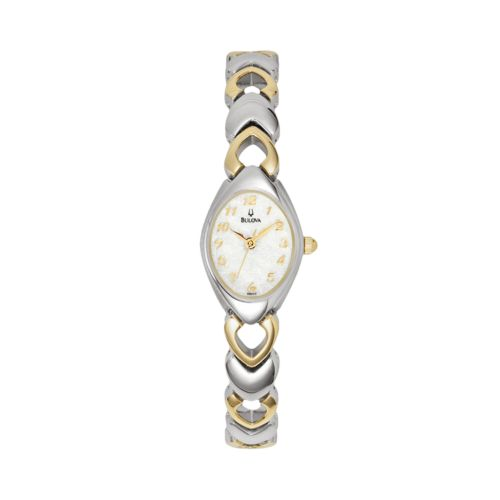 Bulova Women's Dress Two Tone Stainless Steel Watch - 98V02