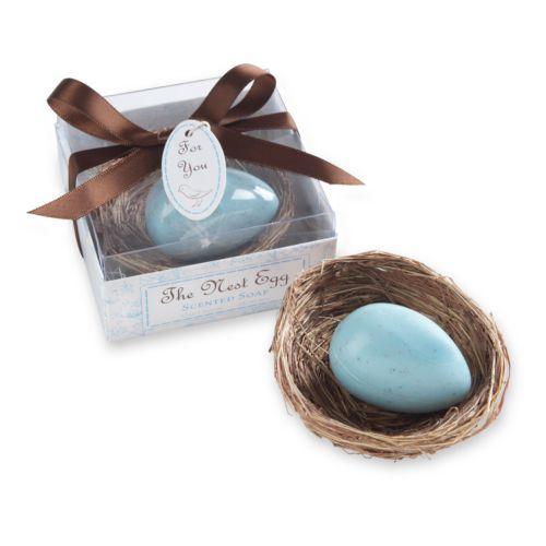 Kate Aspen The Nest Egg Scented Soap - Blue
