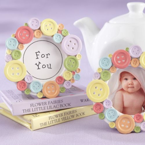 Kate Aspen Cute As A Button Photo Frame