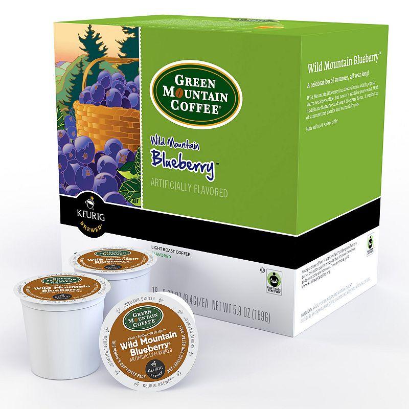 Keurig® K-Cup® Pod Green Mountain Coffee Wild Mountain Blueberry Coffee - 18-pk.