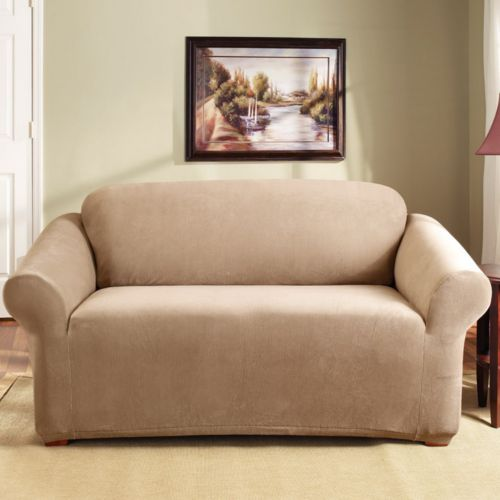Homestyles by Sure Fit Stretch Pearson Loveseat Slipcover