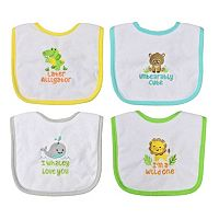 Baby Treasures 4-pk. Neutral Bibs