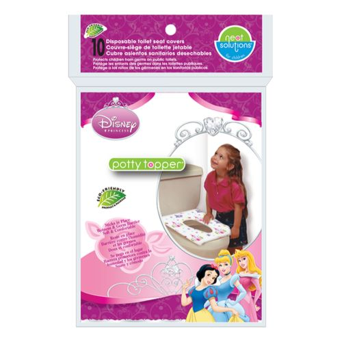 Disney Princess Potty Topper 10-pk. Disposable Toilet Seat Covers by Neat Solutions