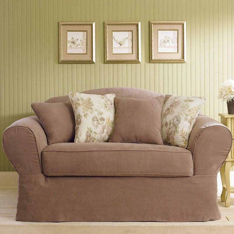 red slipcovers sofa slipcover kohl 39 s