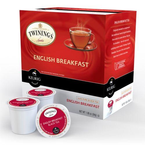 Keurig® K-Cup® Pod Twinings of London English Breakfast Tea - 18-pk.