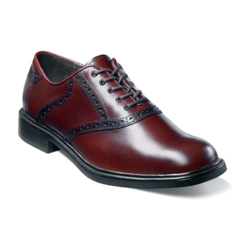 Nunn Bush Macallister Comfort Gel Saddle Oxford Shoes - Men