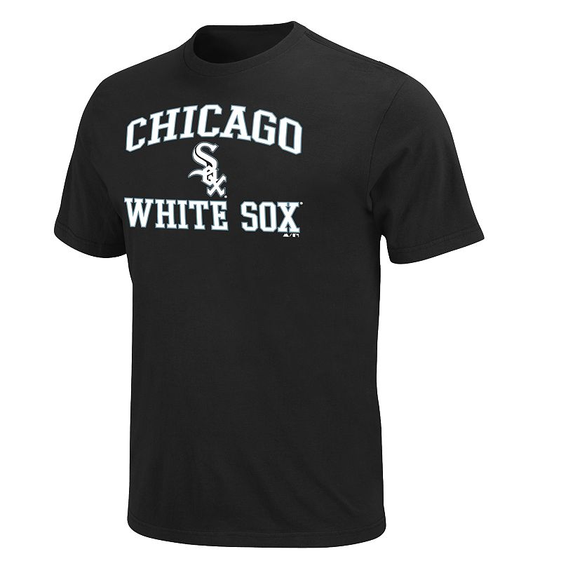 Men's Majestic Chicago White Sox Heart & Soul II Tee