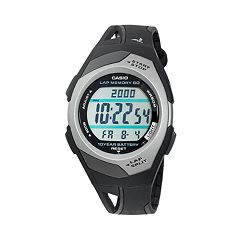Casio Women's Runner Series 60-Lap Digital Chronograph Watch STR300C-1V