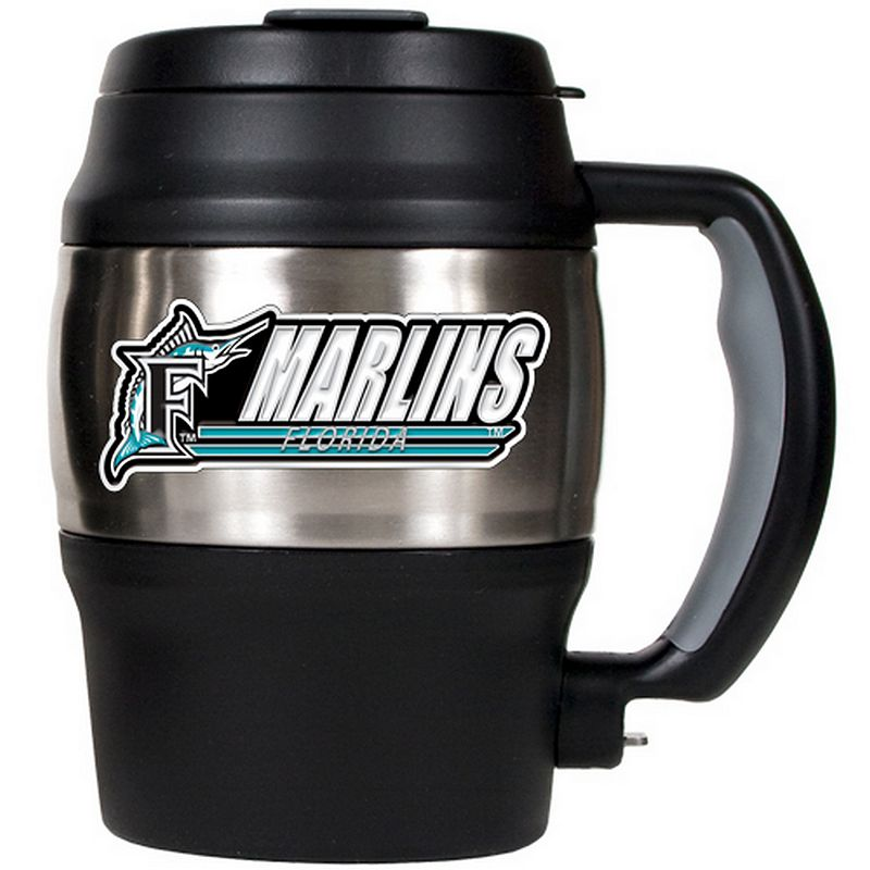 Florida Marlins Stainless Steel Mini Travel Jug