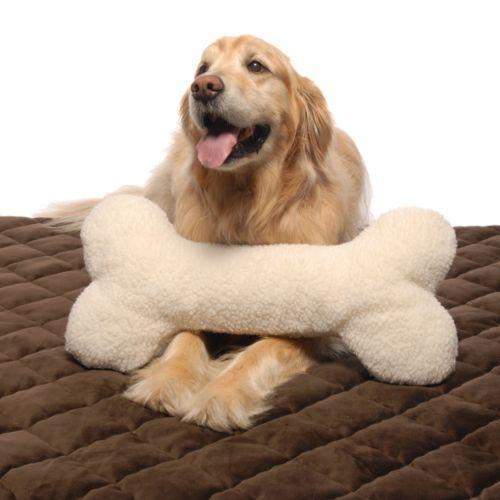 Carolina Pet Co. Bone Pet Pillow - 24'' x 12''