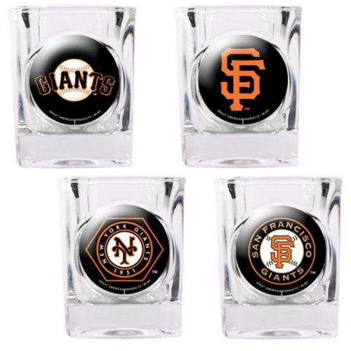 San Francisco Giants 4-pc. Square Shot Glass Set