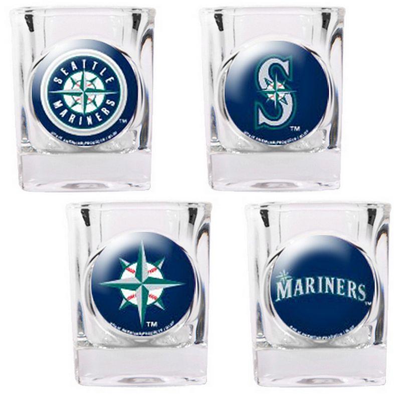 Seattle Mariners 4-pc. Square Shot Glass Set