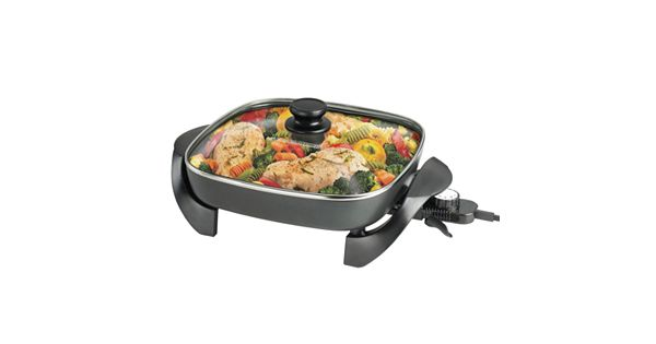 Black And Decker 12 In Electric Skillet