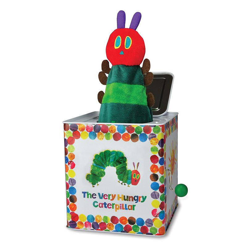 Kids Preferred The World of Eric Carle The Very Hungry Caterpillar Jack in the Box