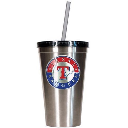 Texas Rangers Stainless Steel Tumbler