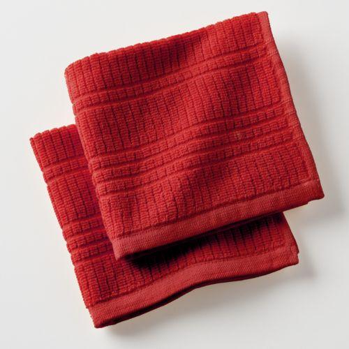 SONOMA life + style® Concord 2-pk. Ribbed Dishcloths