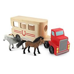 Melissa & Doug Horse Carrier Set by