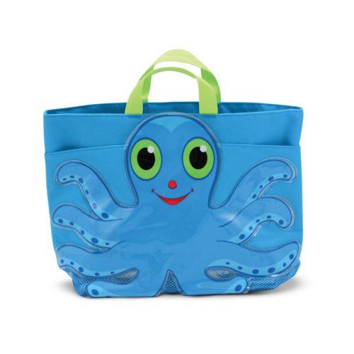 Melissa and Doug Flex Octopus Beach Tote Bag