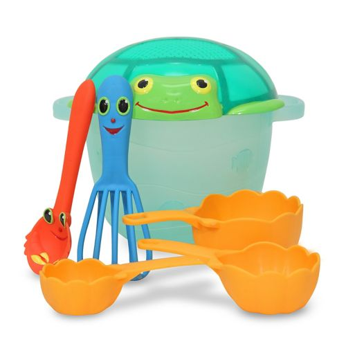 Melissa and Doug Seaside Sidekicks Sand Baking Set