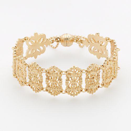 LC Lauren Conrad Filigree Cuff Bracelet