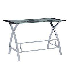 World Map Computer Desk