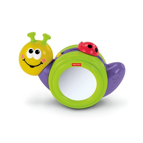 Fisher-Price Go Baby Go 1-2-3 Crawl-Along Snail